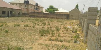 Fenced 2,000m2 Land  with Buildings, Lugbe District, Abuja, House for Sale
