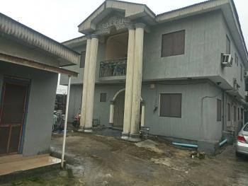 Versatile and Innovative Semi Detached 4 Bedroom Duplex with Extra Two 2 Bedroom and 4 Bedsitters, Ugbuwangue, Close to Ogunu, Warri, Delta, Semi-detached Duplex for Sale