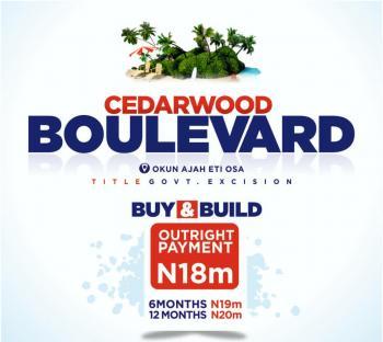 Cedarwood Boulevard Land, Ajah, Lagos, Residential Land for Sale