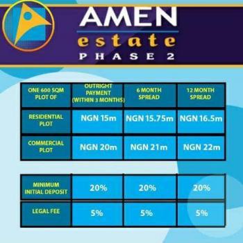 Amen Estate Phase 2 Land, Eleko, Ibeju Lekki, Lagos, Residential Land for Sale
