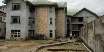 an Uncompleted Guest House with 5 Self Contained Service Quarters, Stadium Road, Port Harcourt, Rivers, Hotel / Guest House for Sale