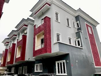 Brand New Luxury 4 Bedroom Duplex with Bq, Osapa, Lekki, Lagos, Terraced Duplex for Rent