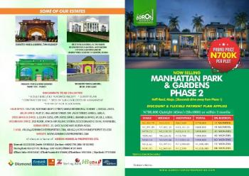 Manhattan Parks and Gardens Phase 2, Along Abuja Keffi Road, Forty Minutes Drive From Goshen City, Karu, Nasarawa, Mixed-use Land for Sale