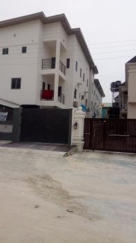 3 Bedroom Terraced Duplex with 1 Room Bq All Rooms Ensuite, Crystal Court Estate, Idado, Lekki, Lagos, Terraced Duplex for Rent
