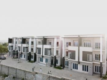 Newly Built  4-bedroom Terraced Duplex with Bq, Katampe Extension, Katampe, Abuja, Terraced Duplex for Rent