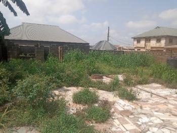 a Full Plot of Land Corner Piece with a Mini Flat, New London Estate, Baruwa, Ipaja, Lagos, Land for Sale