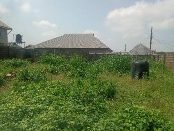 an Half Plot of Land with a Mini Flat, New London Estate, Baruwa, Ipaja, Lagos, Land for Sale