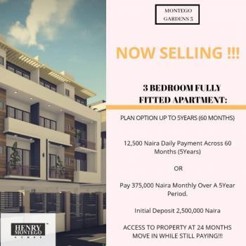 3 Bedroom Apartment, Palm City Estate, Ado, Ajah, Lagos, Flat for Sale