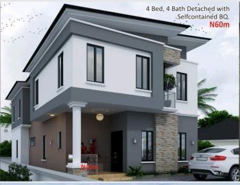 Luxury Four Bedroom Detached with Self Contained Bq, Amen Estate, Lekki Express Way, Eleko, Ibeju Lekki, Lagos, Detached Duplex for Sale