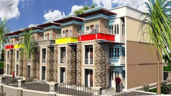4 Bedroom Terrace Duplex with a Bq, Wuye, Abuja, Wuye, Abuja, Terraced Duplex for Sale