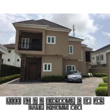 a Fully Detached 5 Bedroom All Rooms En-suite Duplex on 3 Floors., Lekki Phase 1, Lekki, Lagos, Detached Duplex for Sale