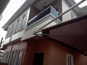 4 Bedroom Detached Duplex with Bq Alone in D Compound, Oral Estate Jst After D Second Toll Gate, Lafiaji, Lekki, Lagos, Detached Duplex for Rent