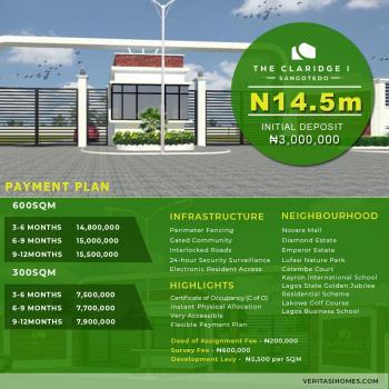 Genuine Plots of Land for Sale @ Clarigde Estate Phase 2, Sangotedo, Shagotedo, Sangotedo, Ajah, Lagos, Residential Land for Sale
