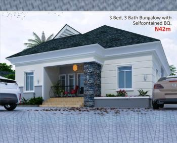 3 Bedroom Bungalow with Self Contained Bq, Amen Estate, Eleko, Ibeju Lekki, Lagos, Detached Bungalow for Sale