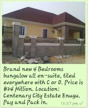 4 Bedrooms Bungalows All Ensuite, Centenary City Estate, Enugu, Enugu, Detached Bungalow for Sale