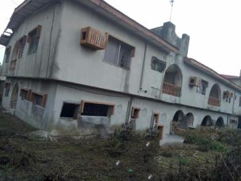 a Block of Dilapidated  4 Units of 3 Bedroom Flat, Gbagada Phase 1, Gbagada, Lagos, Block of Flats for Sale