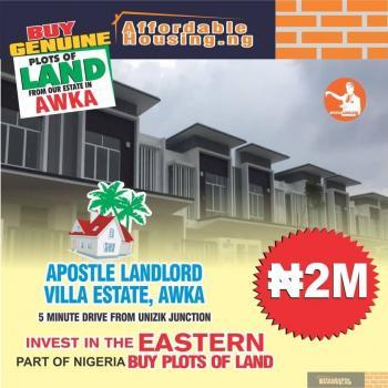 Estate Land, Unizik Junction, Awka, Anambra, Residential Land for Sale