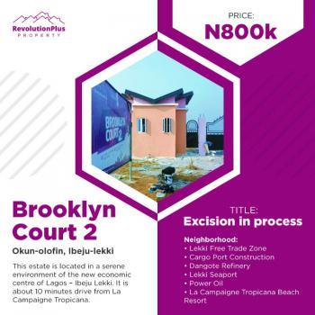 Affordable Estate Plots - 600 Sqm Land, Brooklyn Court 2, Ibeju Lekki, Lagos, Residential Land for Sale