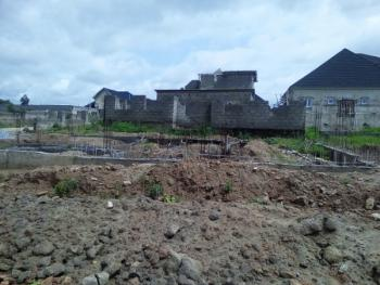 a Plot of Land Measuring 470 Square Meter with Foundation Work, Piacasa Road, Lugbe District, Abuja, Residential Land for Sale