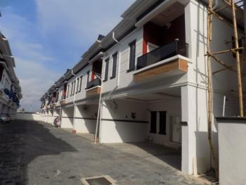 Tastefully Finished 4 Bedroom Terraced Duplex with 24 Hours Electricity in a Gated Mini Estate, Chevron Roundabout, Chevy View Estate, Lekki, Lagos, Terraced Duplex for Rent