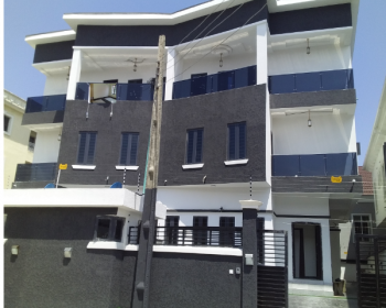 5 Bedroom House, Idado, Lekki, Lagos, Semi-detached Duplex for Sale