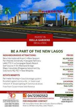 Awesome Lands, Lakowe, Ibeju Lekki, Lagos, Mixed-use Land for Sale