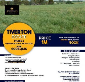 Tiverton Estate Ibeju, Folu Ise, Ibeju Lekki, Lagos, Land for Sale