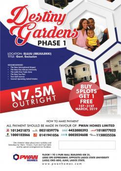 Lagos State Government Excision., Ibeju-lekki, Eluju, Ibeju Lekki, Lagos, Residential Land for Sale