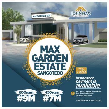 Land, Sangotedo, Ajah, Lagos, Residential Land for Sale