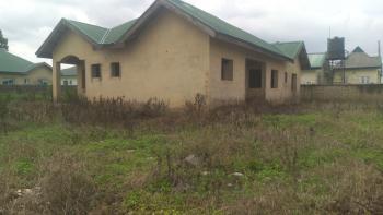 3 Bedroom Bungalow (carcass and Unfenced), Vintage Estate, Beside Royal Noodles Factory, Karu, Abuja, Detached Bungalow for Sale
