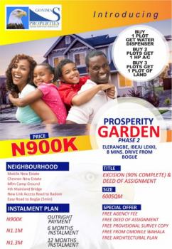 Prosperity Gardens 2, Arapagi Oloko, Ibeju Lekki, Lagos, Mixed-use Land for Sale