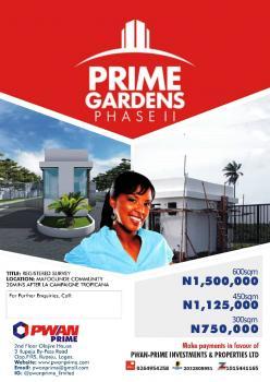 Prime Garden Land, Mafogunde, Ibeju Lekki, Lagos, Residential Land for Sale