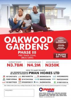 Land, Free Trade Zone, Eluju, Ibeju Lekki, Lagos, Residential Land for Sale