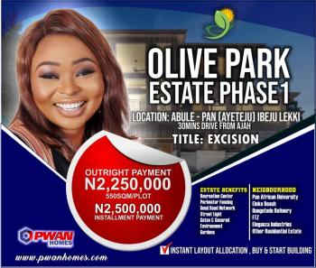 Land, Free Trade Zone, Ibeju, Lagos, Residential Land for Sale