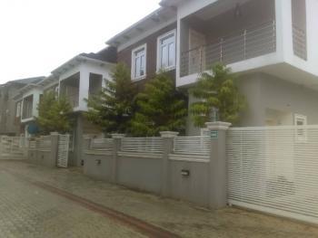 Well Build 5 Bedroom Terrance Duplex with 1bq, Ikate Elegushi, Lekki, Lagos, Terraced Duplex for Rent
