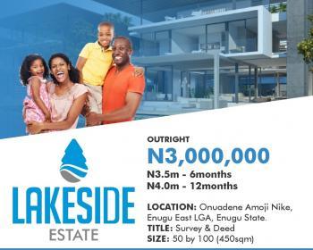 Lake Side Estate Land, Enugu, Enugu, Residential Land for Sale
