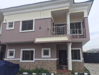 Brand New 4 Bedroom Terrace Duplex with Bq, Bera, Chevy View Estate, Lekki, Lagos, Terraced Duplex for Rent