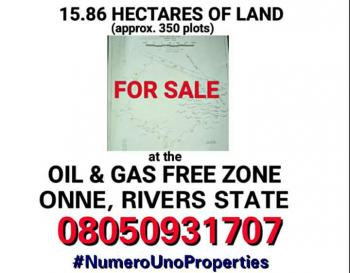 350 Plots of Land, Onne, Eleme, Rivers, Mixed-use Land for Sale