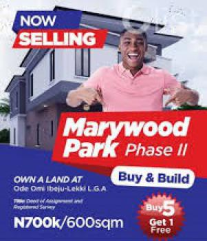 Cheapest Land in Ibeju-lekki [marywood Park: Mixed-use Plots], Cheap Land for Sale in Ibeju-lekki, Lagos, Ibeju Lekki, Lagos, Mixed-use Land for Sale