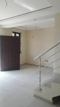 Exquisite 3 Bedroom Terrace Duplex with Bq, Close to Chevron Toll Gate Axis, Lekki Phase 1, Lekki, Lagos, Terraced Duplex for Sale