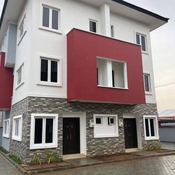 4 Bedrooms Semi-detached Duplex House with Bq, By Jakande Bus Stop, Osapa, Lekki, Lagos, Semi-detached Duplex for Sale