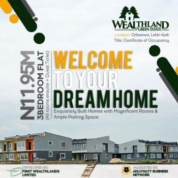 3 Bedroom Flat, Lakowe, Oribanwa, Ibeju Lekki, Lagos, Flat for Sale