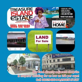 Land, Adjacent Shoprite, Opp Crown Estate, Awoyaya, Ibeju Lekki, Lagos, Mixed-use Land for Sale