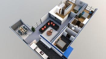 Off Plan 2 Bedrooms Flat with Maids Room, Lekki Phase 1, Lekki, Lagos, Flat for Sale