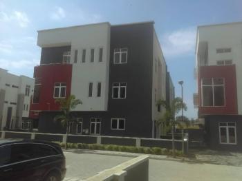 Spacious 4 Bedroom Terrance Duplex with Bq, Osapa, Lekki, Lagos, Terraced Duplex for Rent