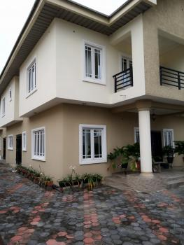 Well Finished Spacious 5 Bedroom Duplex with Just Three Tenants, Within a Very Secured Estate, Before  Shop Rite, Sangotedo, Ajah, Lagos, Semi-detached Duplex for Rent