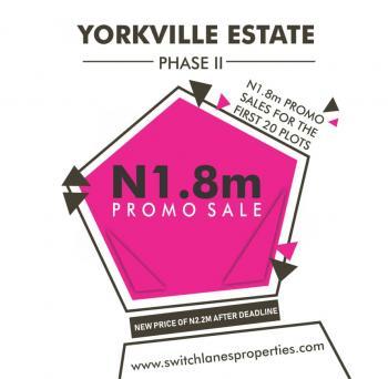 Yorkville Estate, Lekki Free Trade Zone, Okun Imedu, Ibeju Lekki, Lagos, Mixed-use Land for Sale