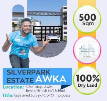 Estate Land, Behind British International School Nibo-isiagu, Awka, Anambra, Residential Land for Sale