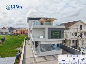 Contemporary 5 Bedroom Detached Duplex with Swimming Pool, Cinema, Gym, Pinnok Beach Estate, Jakande, Lekki, Lagos, Detached Duplex for Sale