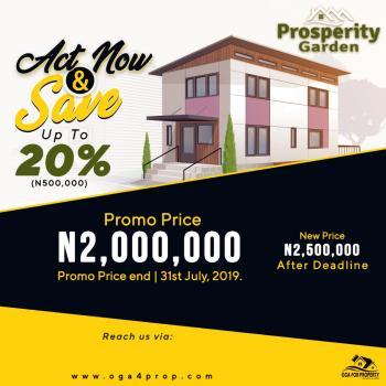 Prosperity Garden, Iberekodo, Ibeju Lekki, Lagos, Mixed-use Land for Sale